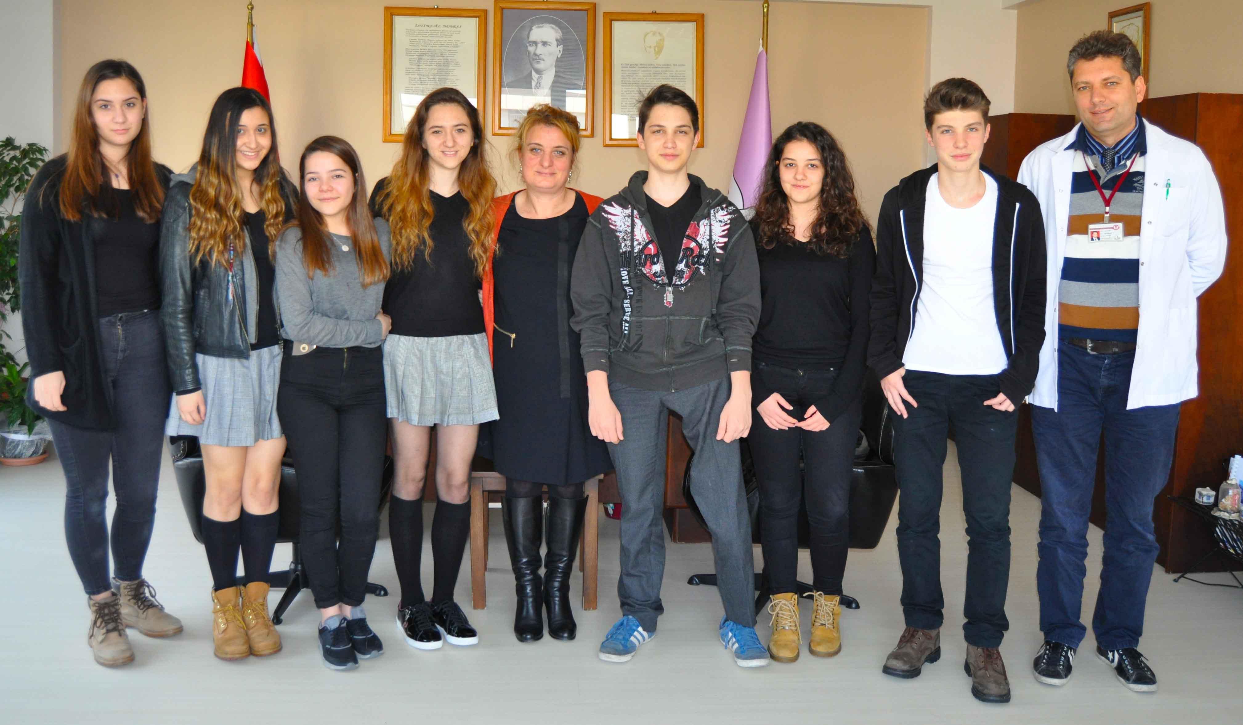 Öğrencilerimiz Destination Imagination  Türkiye Finalinde İkinci Oldu