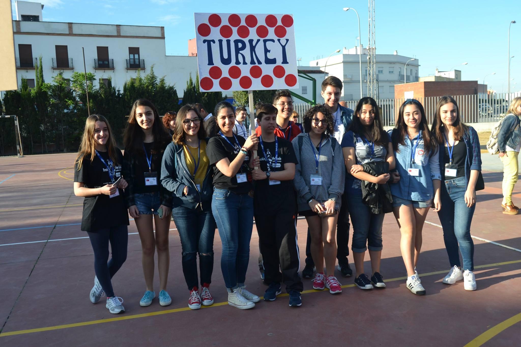 Erasmus + ekibimiz İspanya'daydı