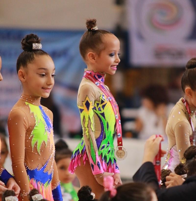 Fidaner Ritmik Jimnastikte Türkiye Birincisi