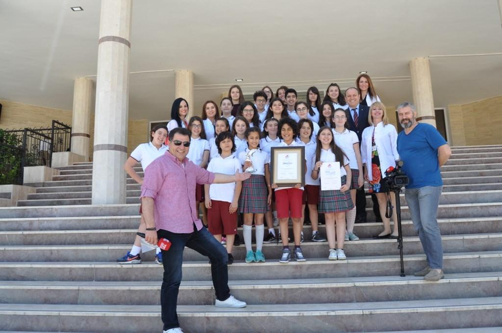 GEF dünya birincisi ve ikincisi gruplarımız TRT'de