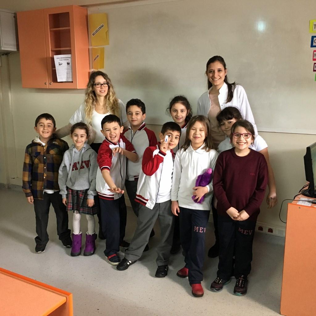 2 ve 3. sınıflarımızın e-twinning projesi