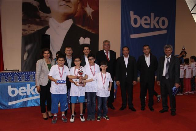 BEKO 15. Satranç Şöleninde Öğrencilerimize ve Öğretmenimize Ödül