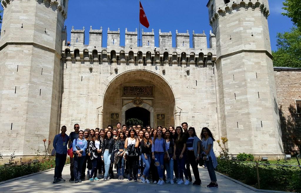 10. sınıf öğrencilerimiz İstanbul'u gezdi
