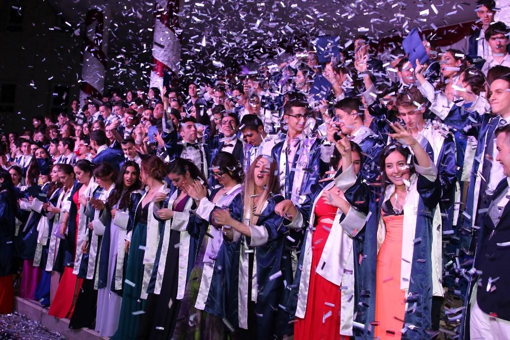 Anadolu Lisesi 23. Dönem, Fen Lisesi 19. Dönem Mezunlarını Uğurladık