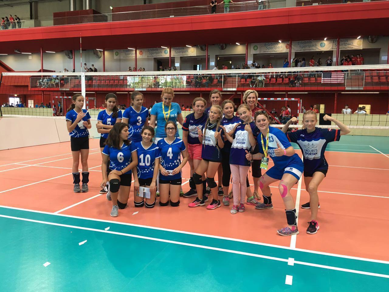 Öğrencilerimiz, Dünya Gençlik Oyunlarında Litvanya'yı 2-0 Yendi