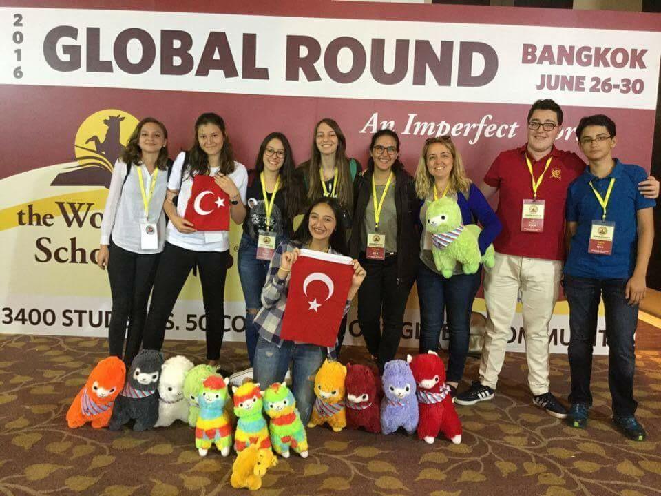 Lise WSC Takımımız Bangkok'tan Yale Vizesi Aldı