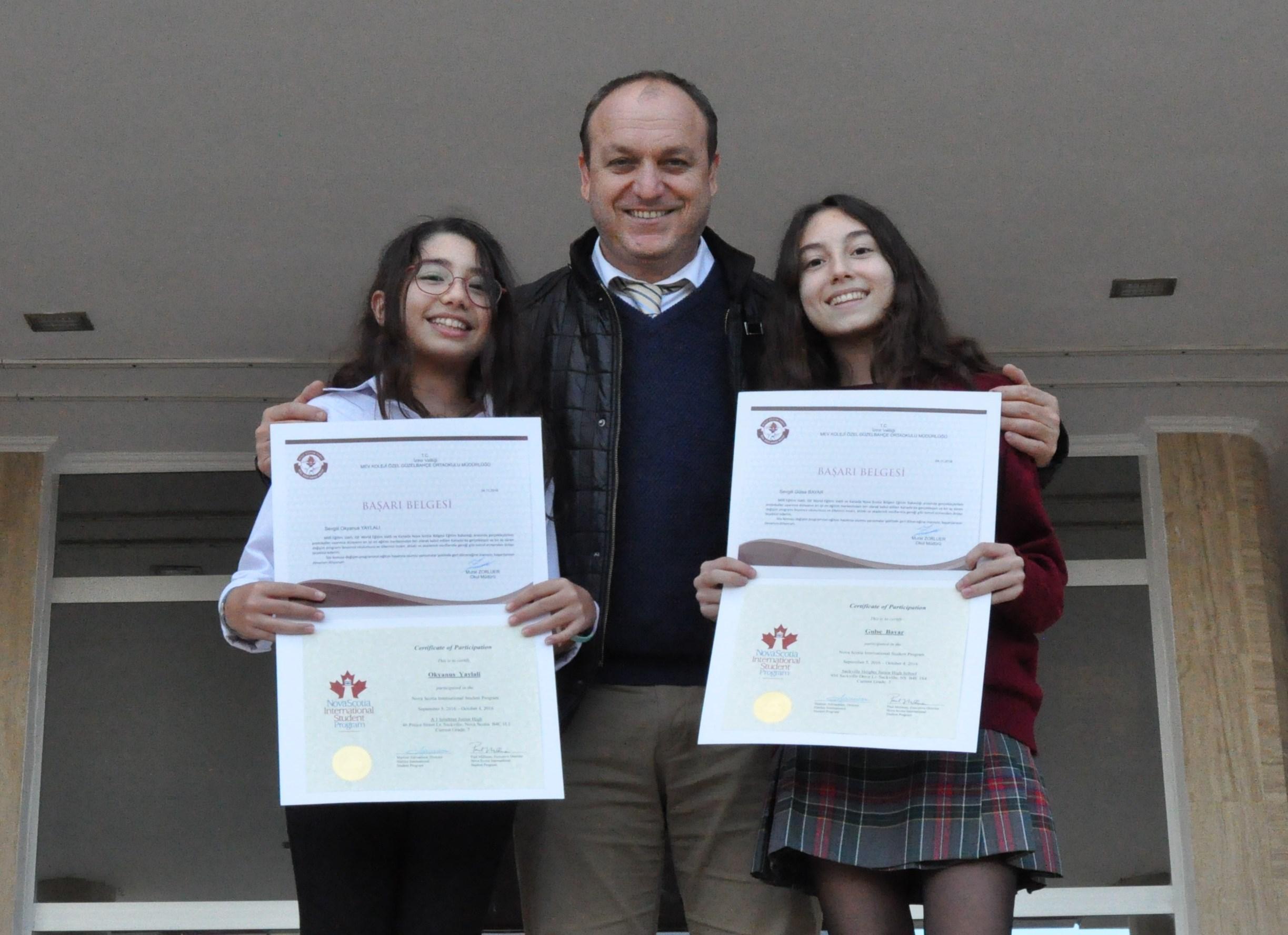 Kanada Öğrenci Değişim Programını Başarıyla Tamamladılar