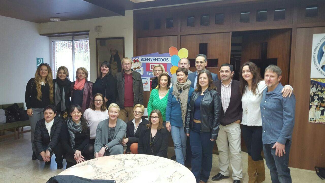 Erasmus + Ekibimiz Koordinasyon Toplantısı için İspanya'da