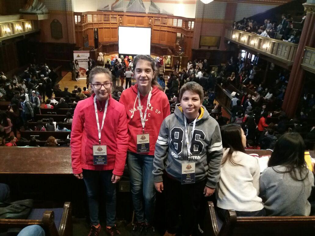 MEV Bilginleri Yale'den Başarıyla Dönüyor