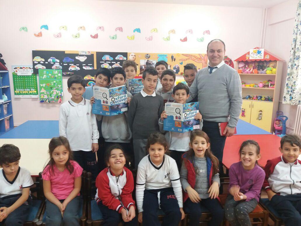 Okul Öncesi Öğrencilerine İngilizce Hikaye Okudular