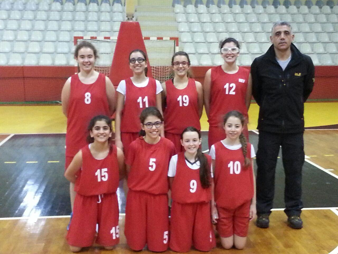 Yıldız Kız Basketbol Takımımız Final Grubunu İkincilikle Tamamladı