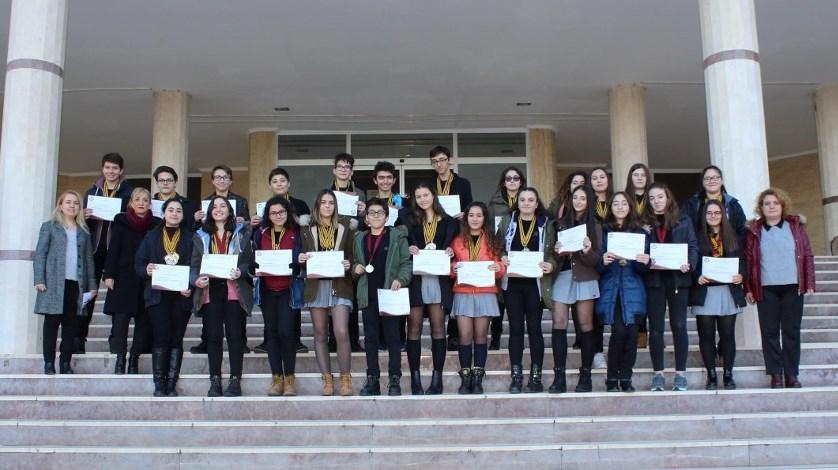 Lise Öğrencilerimizin Başarısını Alkışladık