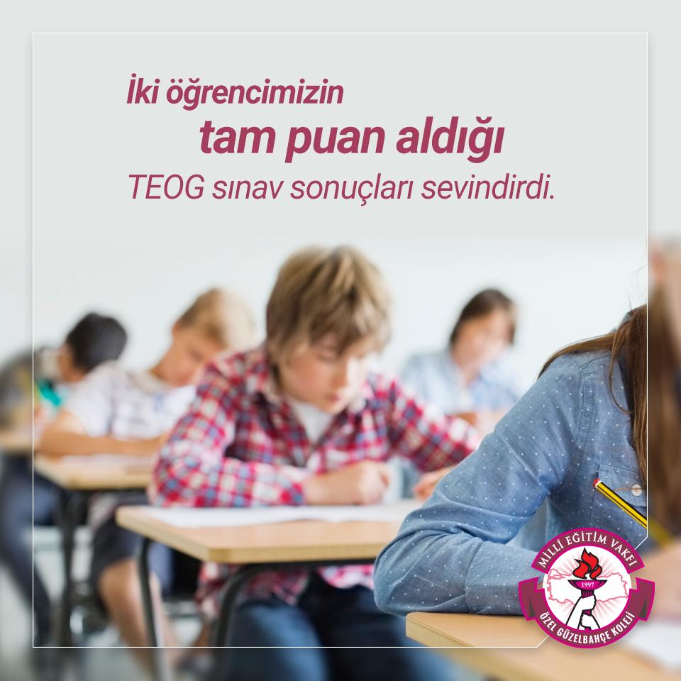 TEOG Sınav Sonuçları Sevindirdi