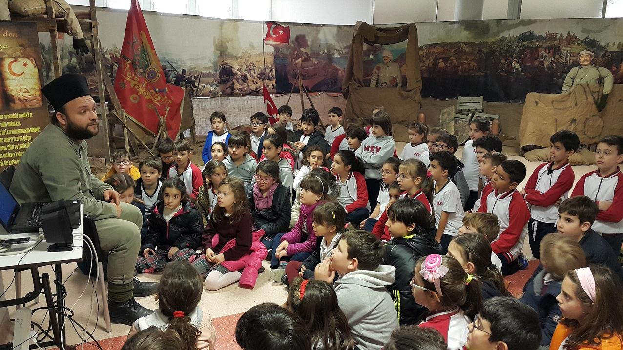 Öğrencilerimiz Çanakkale Sergisini Gezdi