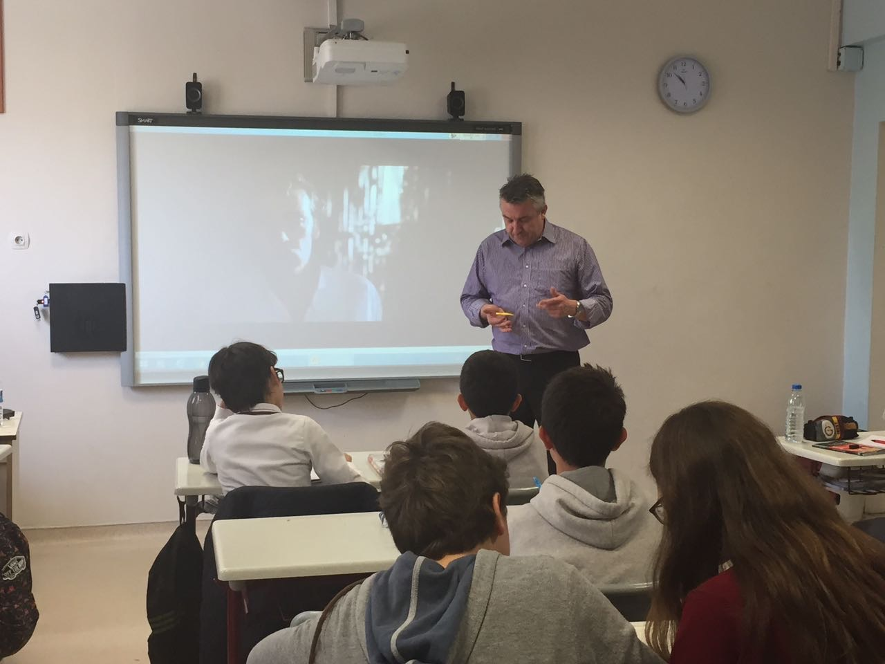 Andy Cowle ile İngilizce Dersi