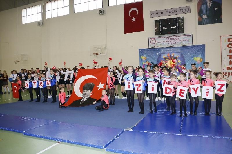 23 Nisan Ulusal Egemenlik ve Çocuk Bayramını Coşkuyla Kutladık