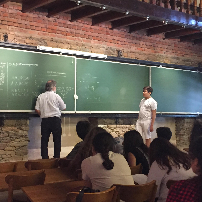 9. Sınıflarımız Şirince Matematik Köyü'ndeydi