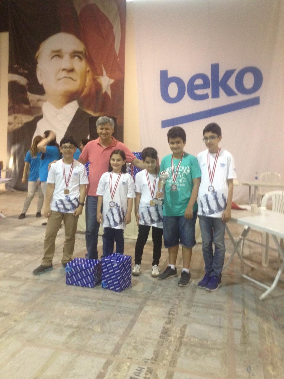 Öğrencilerimiz, BEKO Satranç Turnuvası ve Minikler Satranç İl Birinciliği Müsabakalarına Katıldı