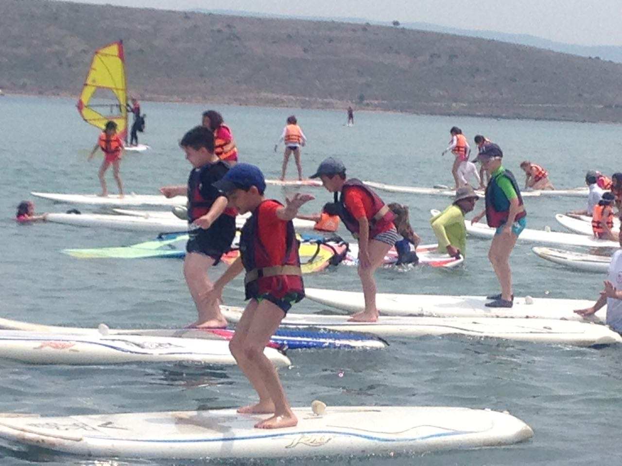 2. Sınıflar Sörf ve Çadır Kampı