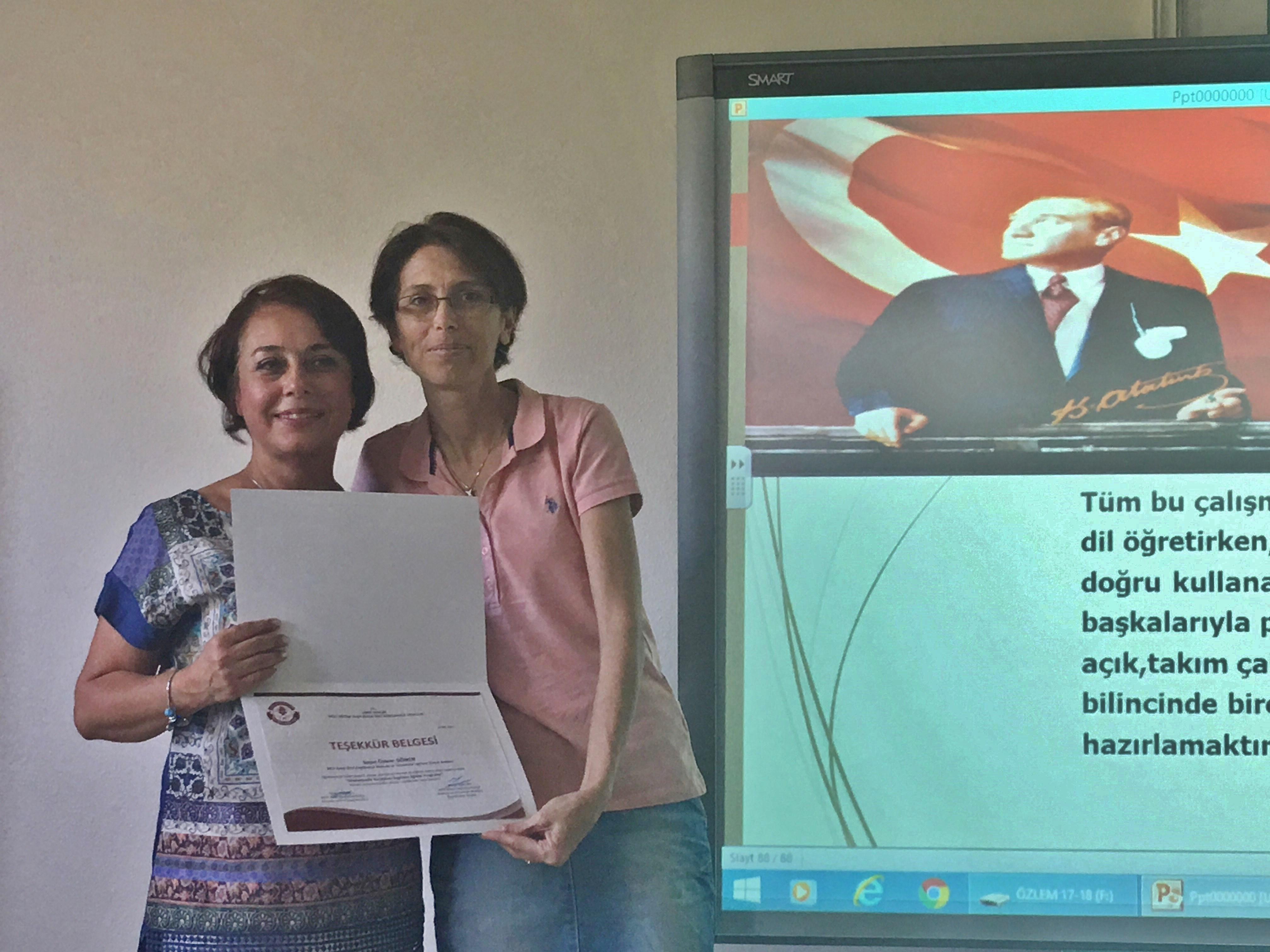 Okulumuzda Yürütülen İngilizce Eğitim Programı Hakkında Bilgi Verildi