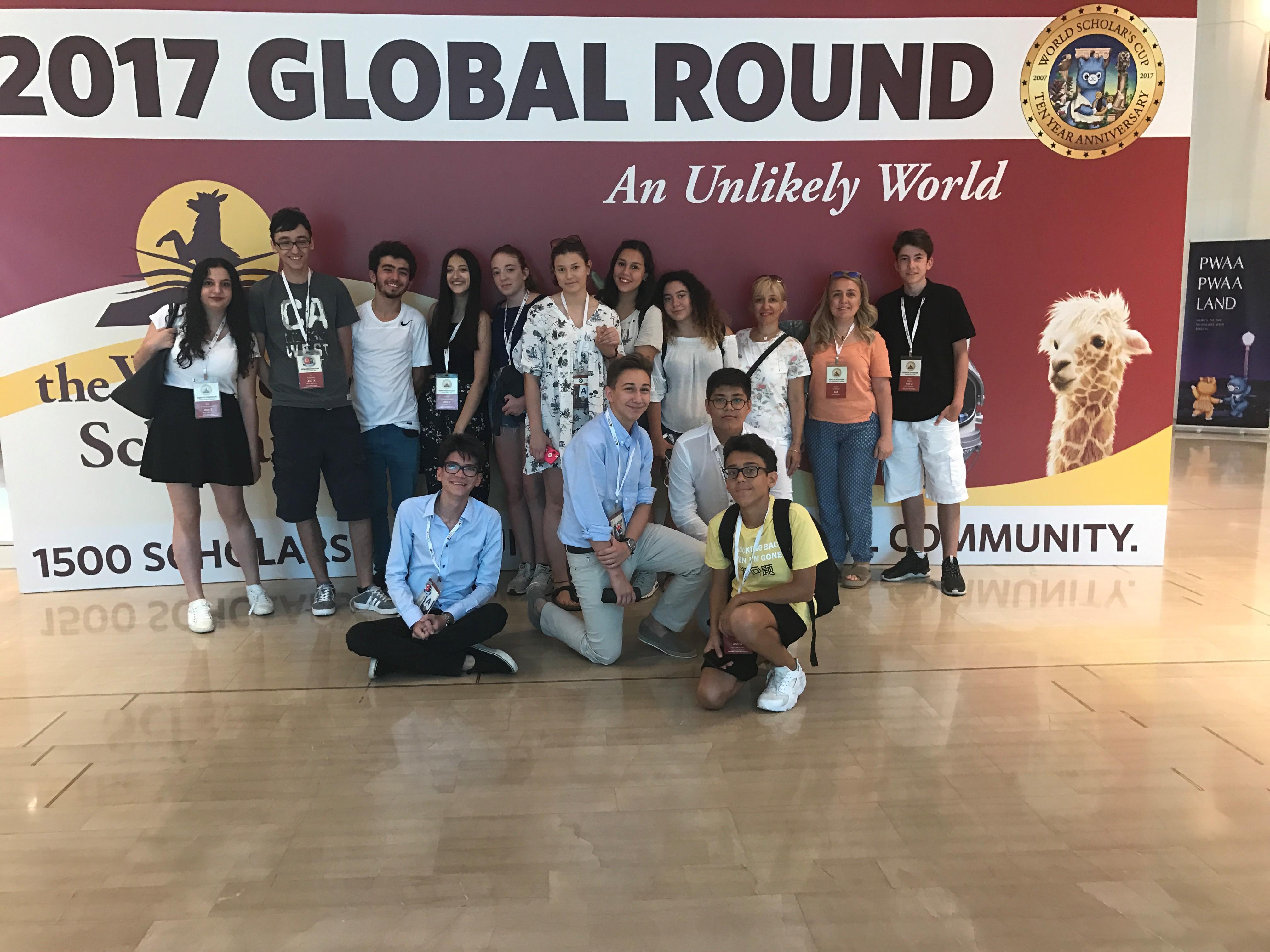 Lise WSC Ekibimiz, Yale Biletini Atina'dan Aldı