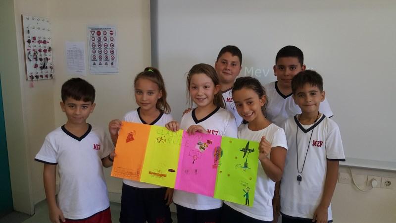 Sınıf İçi Etkinliklerle İngilizceyi Zevkle Öğreniyorlar