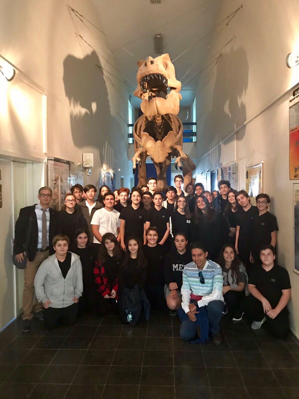 Anadolu Lisesi 9. Sınıflarımız Tabiat Tarihi Müzesi'ndeydiler
