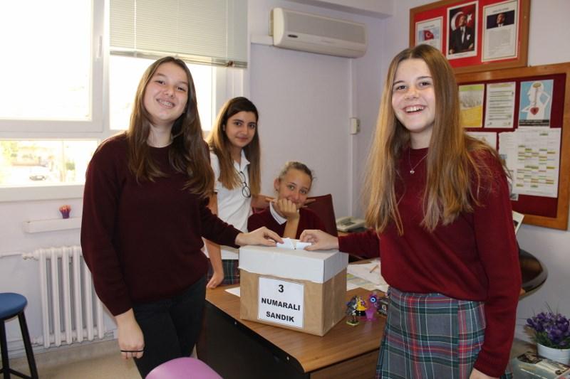 Ortaokul Öğrenci Meclisi Seçimleri Yapıldı