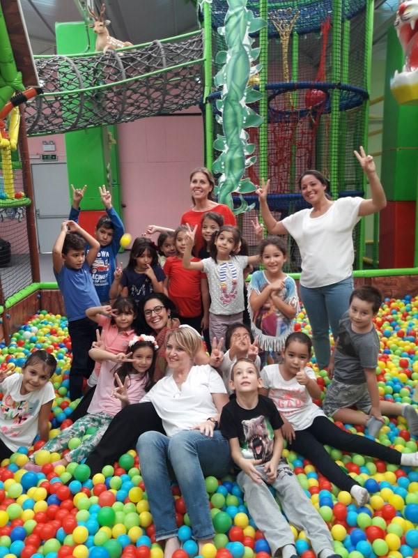 1. Sınıflarımız Oyun Parkurlarında Gönüllerince Eğlendi