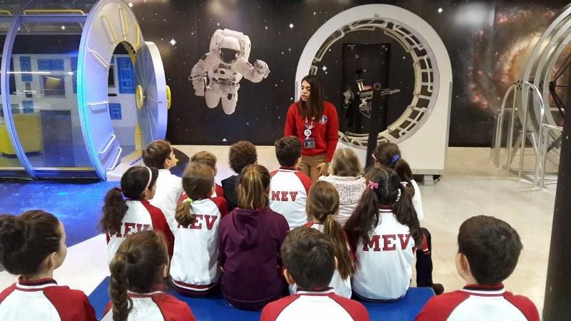 3. Sınıflar Uzay Kampında