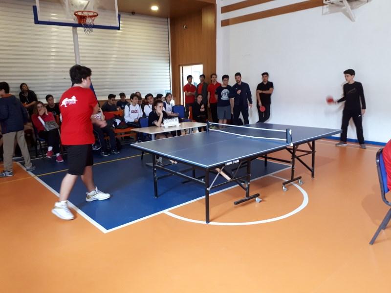 Güzelbahçe İlçesi Liseler arası Masa Tenisi Turnuvası