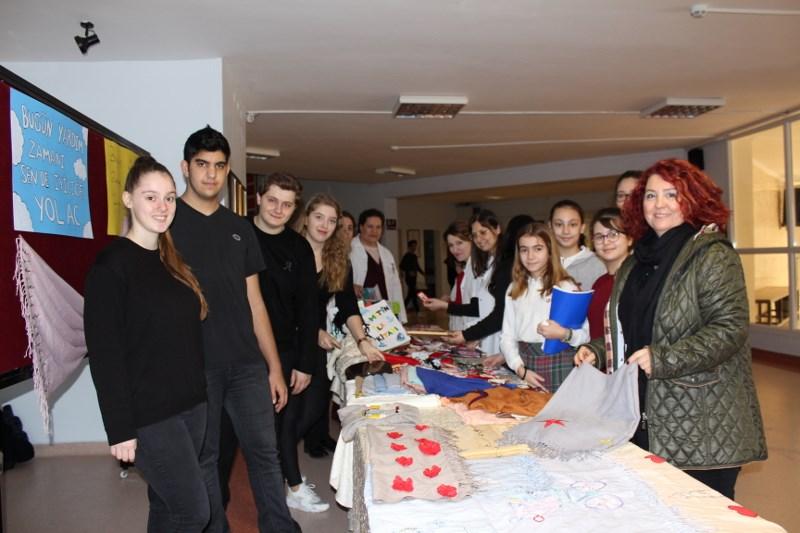 Sosyal Yardımlaşma Kulübümüz Kermes Düzenledi