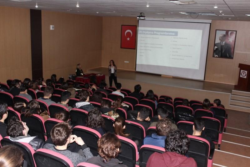 12. Sınıf Öğrencilerimize Suny (Uluslararası Ortak Lisans) Programı Hakkında Bilgi Verildi