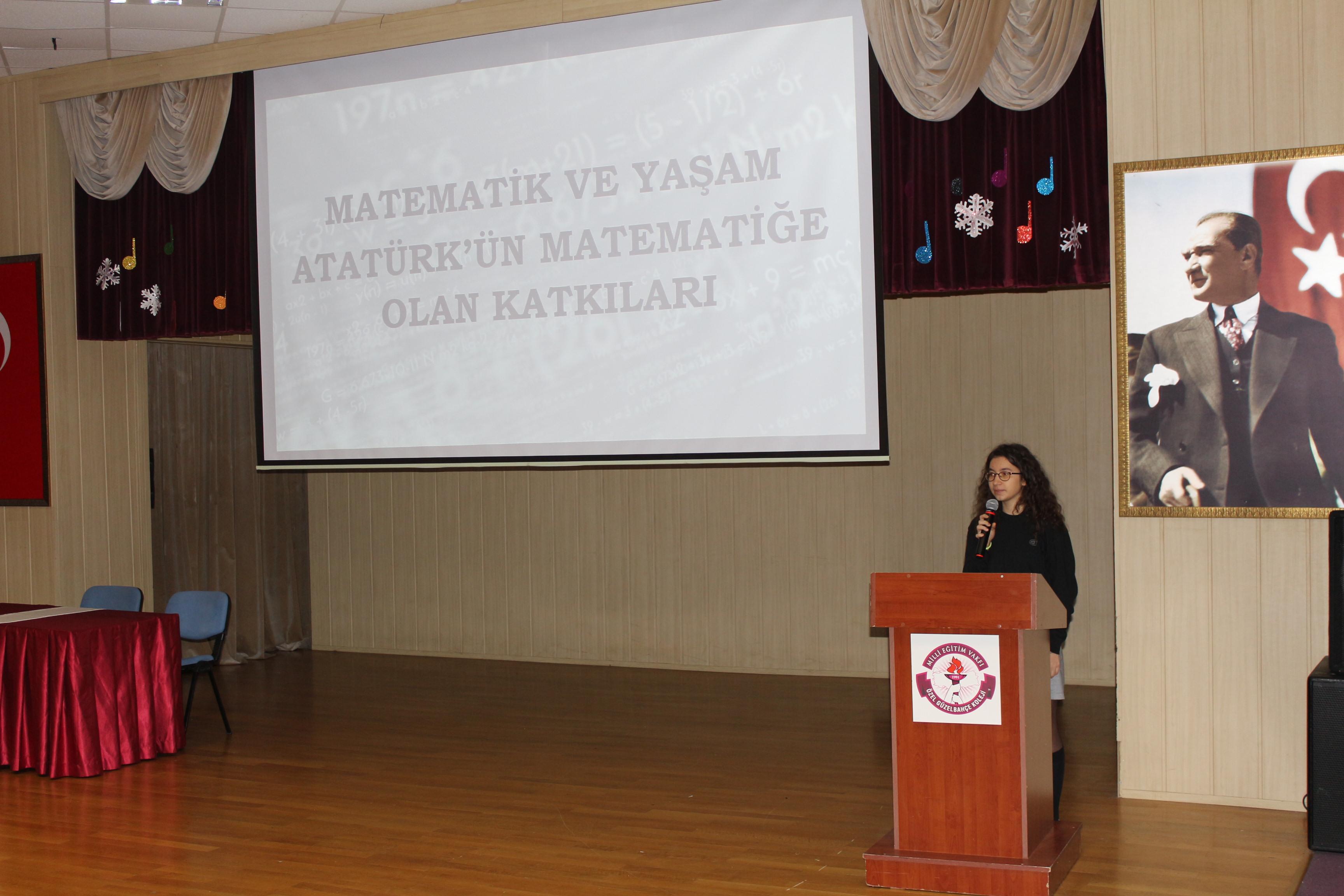 Matematik Hayatın Kendisidir Mev Koleji özel Güzelbahçe Okulları