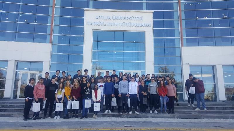 11 ve 12. Sınıflarımız Ankara Üniversitelerini Tanıdı