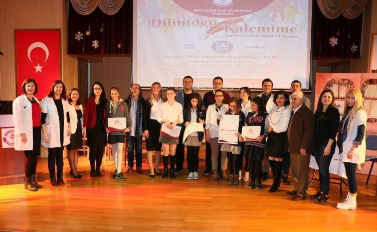 Dilden Kaleme Dökülen Öykülerin Sahibi Genç Kalemler Ödüllerini Aldı