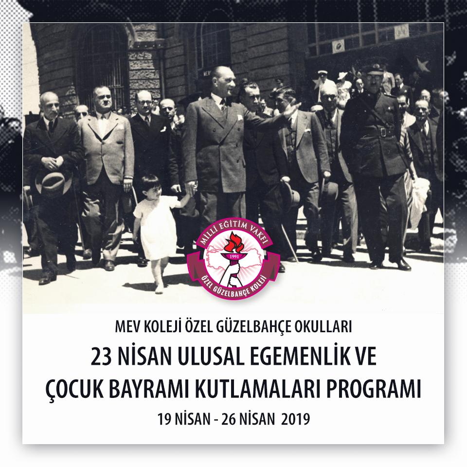 23 Nisan Ulusal Egemenlik ve Çocuk Bayramı Programı