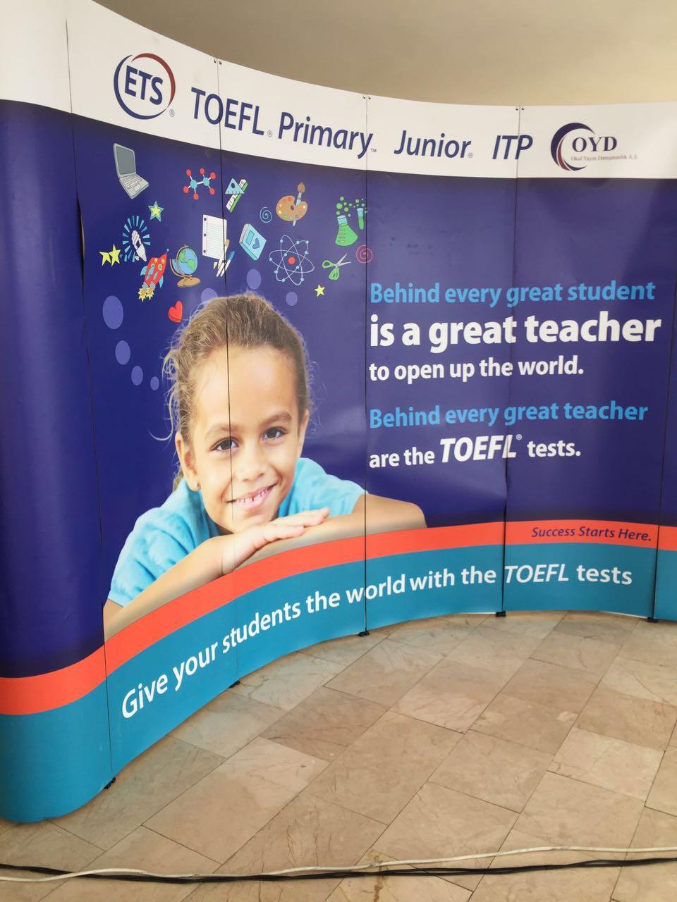 Okulumuzda TOEFL Sınavı Uygulandı