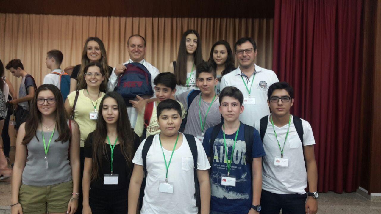 Ortaokul Erasmus + Ekibimiz İspanya'da