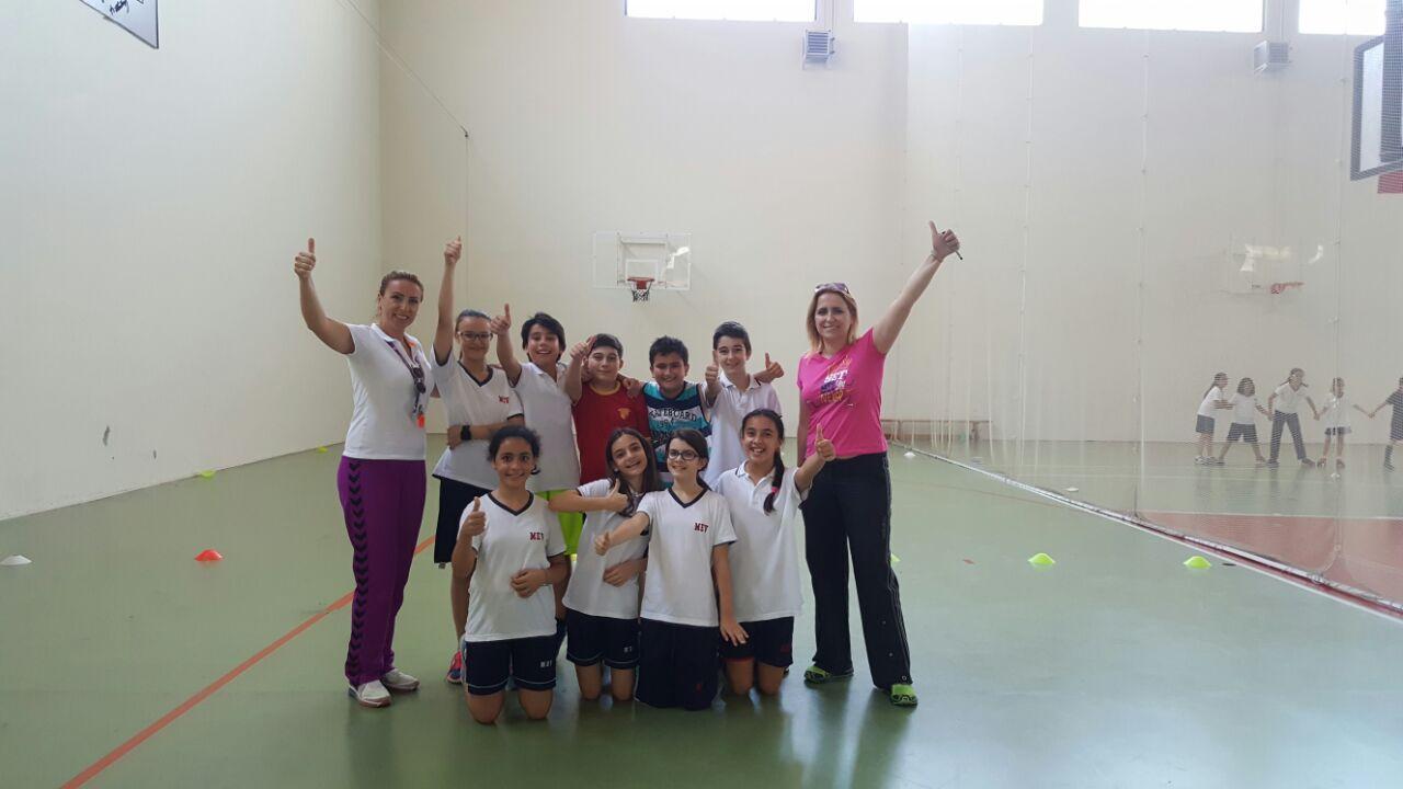6. Sınıflar Arası Yakantop Finalinde 6-B Şampiyon Oldu