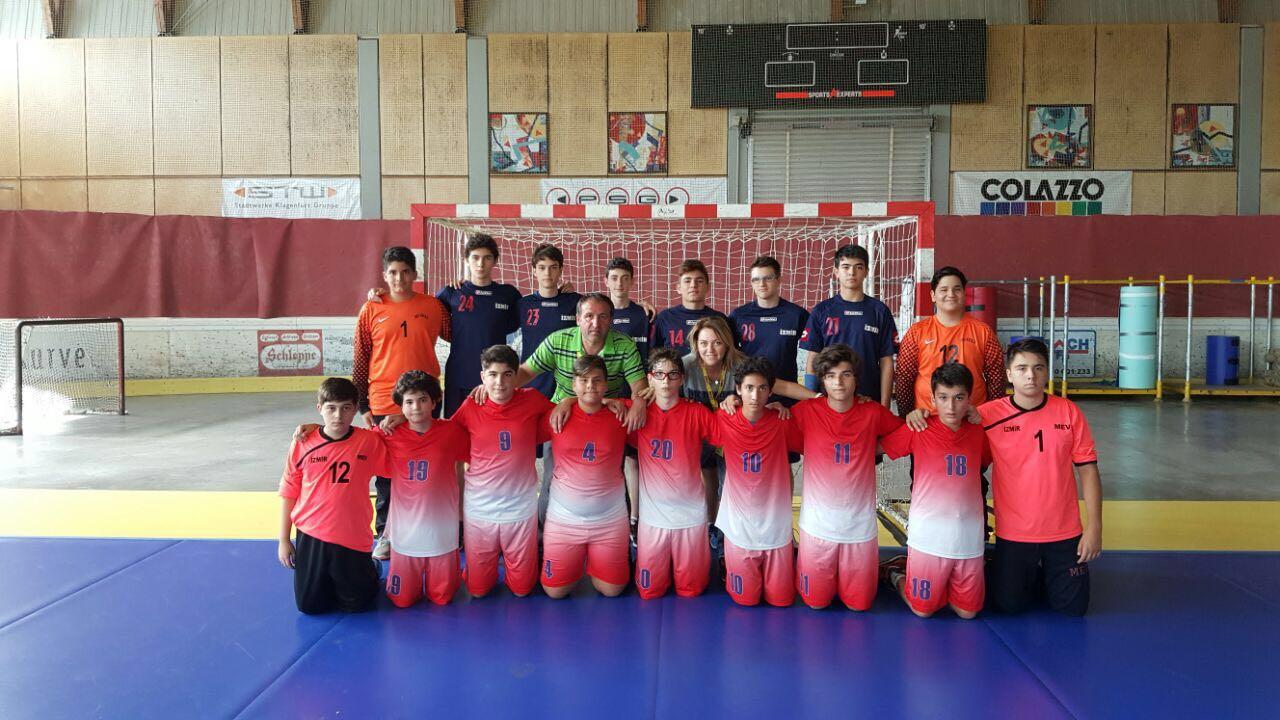 Avrupa Gençlik Oyunlarında Öğrencilerimiz Okulumuzu Temsil Ediyor