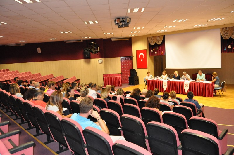 Okullarımız Sene Başı Öğretmenler Kurul Toplantılarını Yaptı
