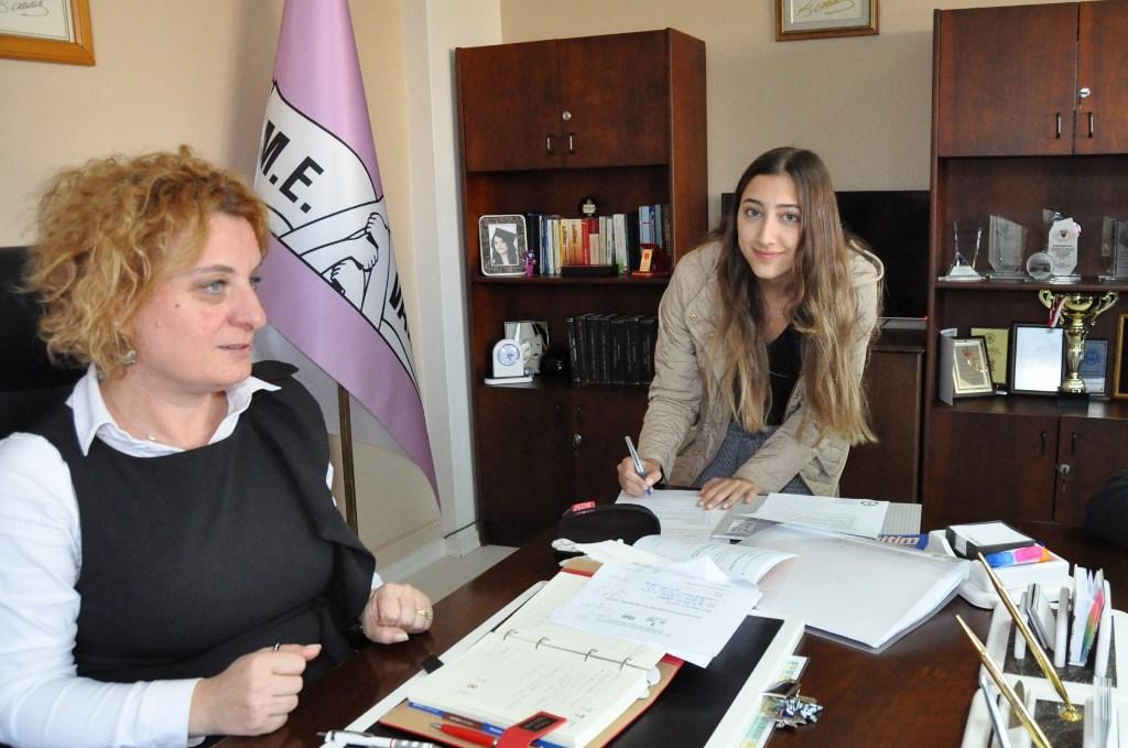 Okul Öğrenci Meclis Başkanları Görev Tebliğlerini İmzaladı