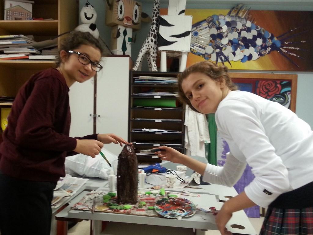 7. Sınıflarımız Atıkları Sanata Katık Etti