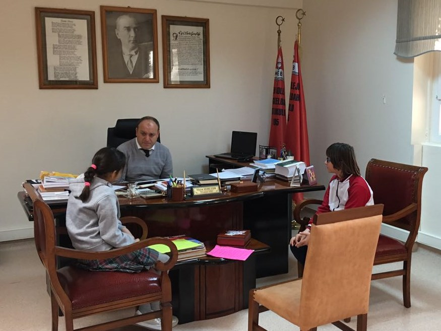 Okul Öğrenci Meclisi Projelerini Anlattı