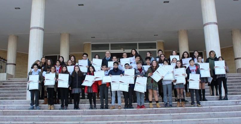Ortaokul Öğrencilerimizin Başarılarını Alkışladık