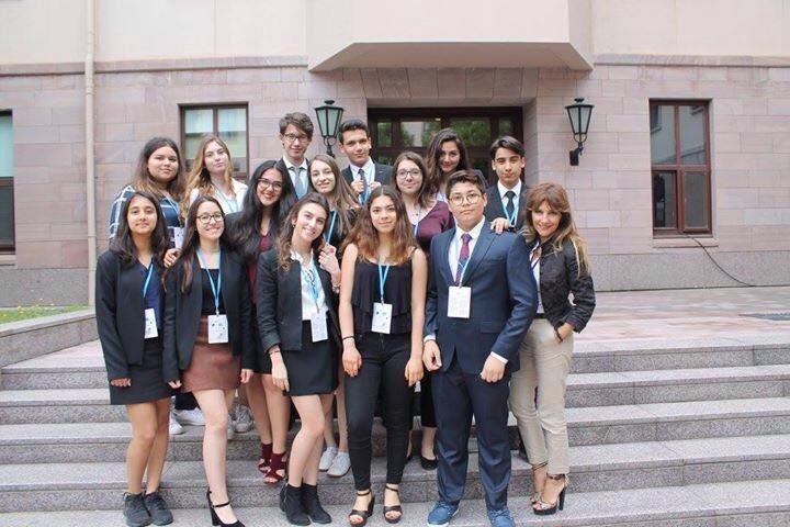 Lise Öğrencilerimiz KUMUN17 Konferansına Katıldı
