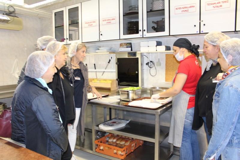 Okul Aile Birliği Kantin ve Yemekhane Denetimi Yaptı