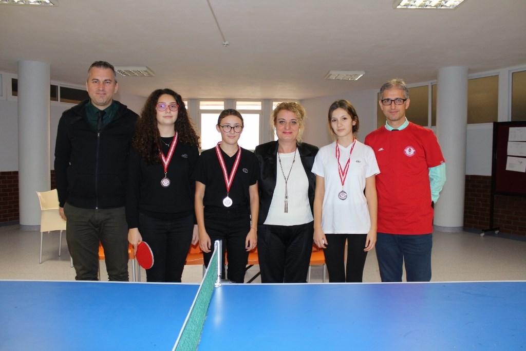 Kızlar Masa Tenisi Şampiyonu: Selin Sönmez