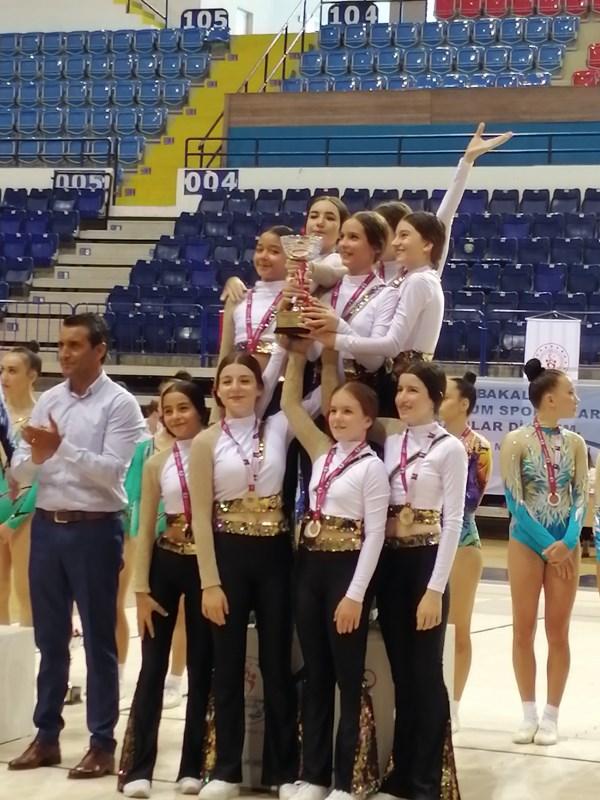 Ortaokul Step Takımımız Türkiye Şampiyonu
